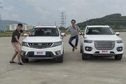 新车评let's购:吉利远景SUV PK哈弗H6