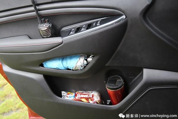欧尚A800长测(8)7座MPV的储物空间,收纳达人满意吗?