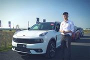 领克01场地试驾视频:CMA平台首发,来自中国的国际车