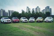 新车评小型SUV六车大对比:直观评分,结果不含糊