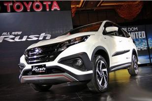 定位于紧凑型SUV,丰田新Rush亮相