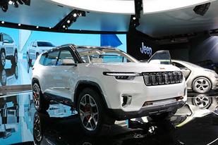 云图概念车的量产版?Jeep新7座SUV或命名大指挥官