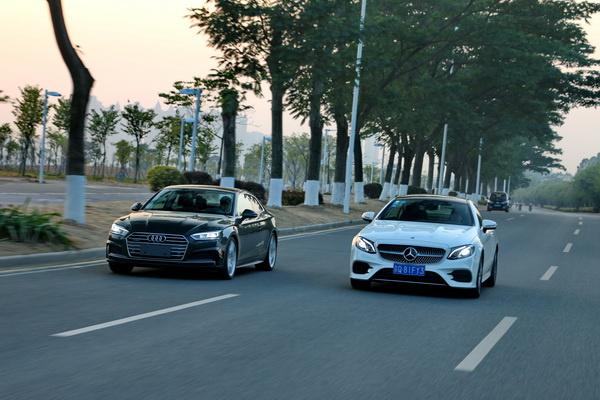 奥迪A5 Coupe对比奔驰E Coupe 谁说双门轿跑不实用?