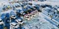 有这么一群人在乌兰布统 为的只是在雪地上撒野