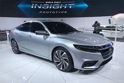 北美车展:搭载本田第三代混动系统,全新INSIGHT原型车