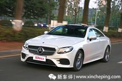 奔驰E200 4matic coupe首试:E For Elegant