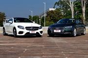 A5 Coupe vs E Coupe 谁说双门轿跑不实用?