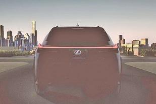定位紧凑型SUV 雷克萨斯UX将于3月亮相