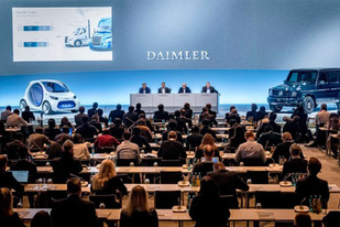 最大股东 吉利集团收购戴姆勒9.69%股份
