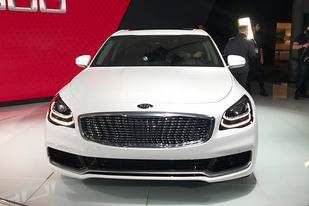 纽约车展:起亚全新一代K900正式亮相