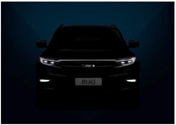 走科技路线,众泰新款SUV B11G效果图曝光
