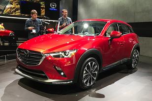 纽约车展:2.0L动力重新调校,新款马自达CX-3正式发布