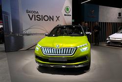 日内瓦车展:展示全新的设计语言,斯柯达Vision X概念车