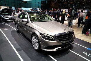 日内瓦车展:新款奔驰C级首次发布