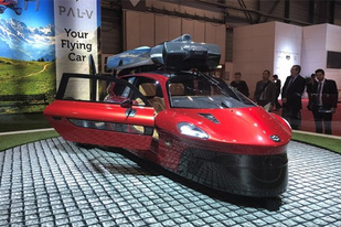 日内瓦车展:PAL-V飞行汽车亮相