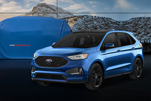全面发力 福特发布旗下四款车型预告图