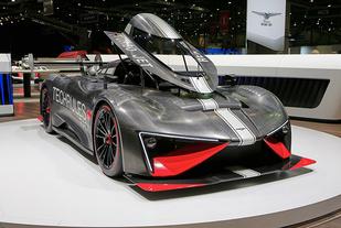 日内瓦车展:最大功率1287马力,泰克鲁斯·腾风至仁RS