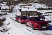 MG6冰雪试驾:没有强大四驱,要靠什么在雪地里行走