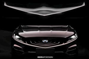 吉利博瑞GT设计草图,搭全新插电混动系统