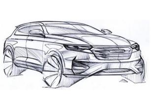 或为T600继任者 曝众泰全新SUV设计图