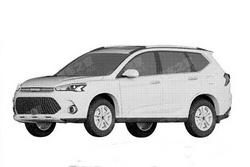全新设计风格 曝哈弗全新SUV专利图