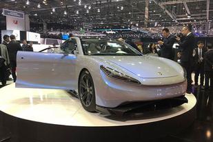 日内瓦车展:又一造车新品牌,绿驰纯电动车Venere