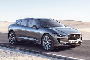 续航达500公里 捷豹首款纯电动SUV官图发布