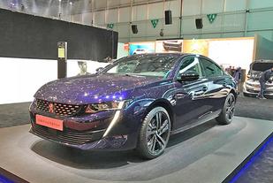 日内瓦车展:新一代标致508正式发布
