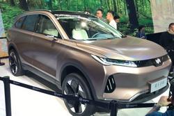 北京車展:繼EX5后的重量級產品,威馬EX6概念車發布