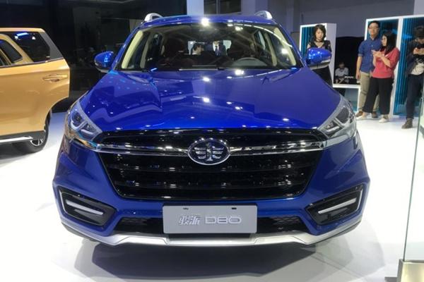 2018北京车展:骏派D80车型正式亮相