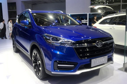 北京车展:第三季度上市,骏派D80车型正式亮相
