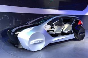 北京车展:对未来汽车技术的畅想,纳智捷AI智能概念座舱