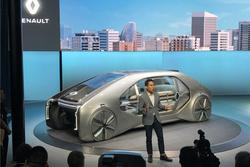 北京车展:家庭客厅设计理念为主,雷诺EZ-GO概念车发布