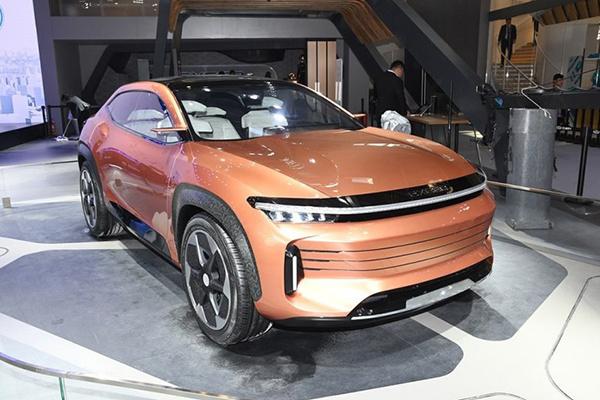 2018北京车展:奇瑞EXEED LX概念车发布