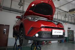 C-HR底盘拆解:下足料的小车,不为尺寸成本妥协