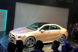 北京车展:国产奔驰A级三厢正式发布,后悬架还分两种?