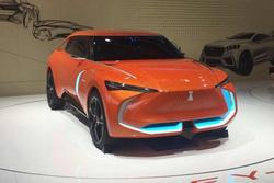 北京车展:造型前卫又黑科技多,WEY-X概念车正式亮相