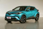 广汽丰田C-HR实拍:高颜值在线,TNGA首款SUV