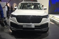 北京车展:同步最新家族风格,众泰T800车型正式亮相