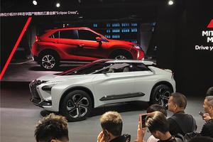北京车展:这样的EVO你喜欢吗?三菱e-EVOLUTION概念车