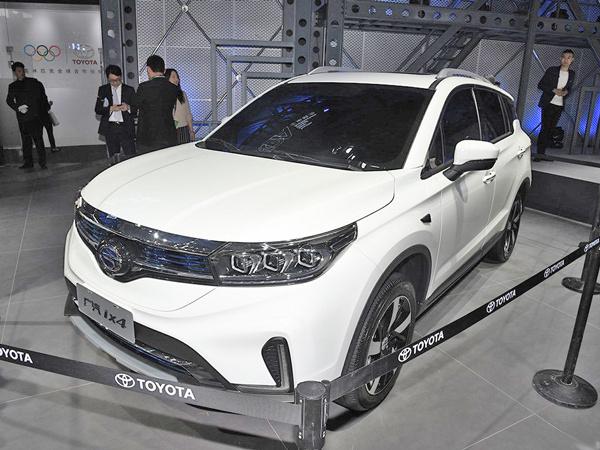 2018北京车展:广汽丰田ix4 EV发布
