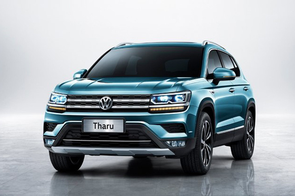 上汽大众全新紧凑型SUV定名Tharu