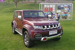北京汽车:BJ40 PLUS售15.98万起,BJ80珠峰版售39.8万