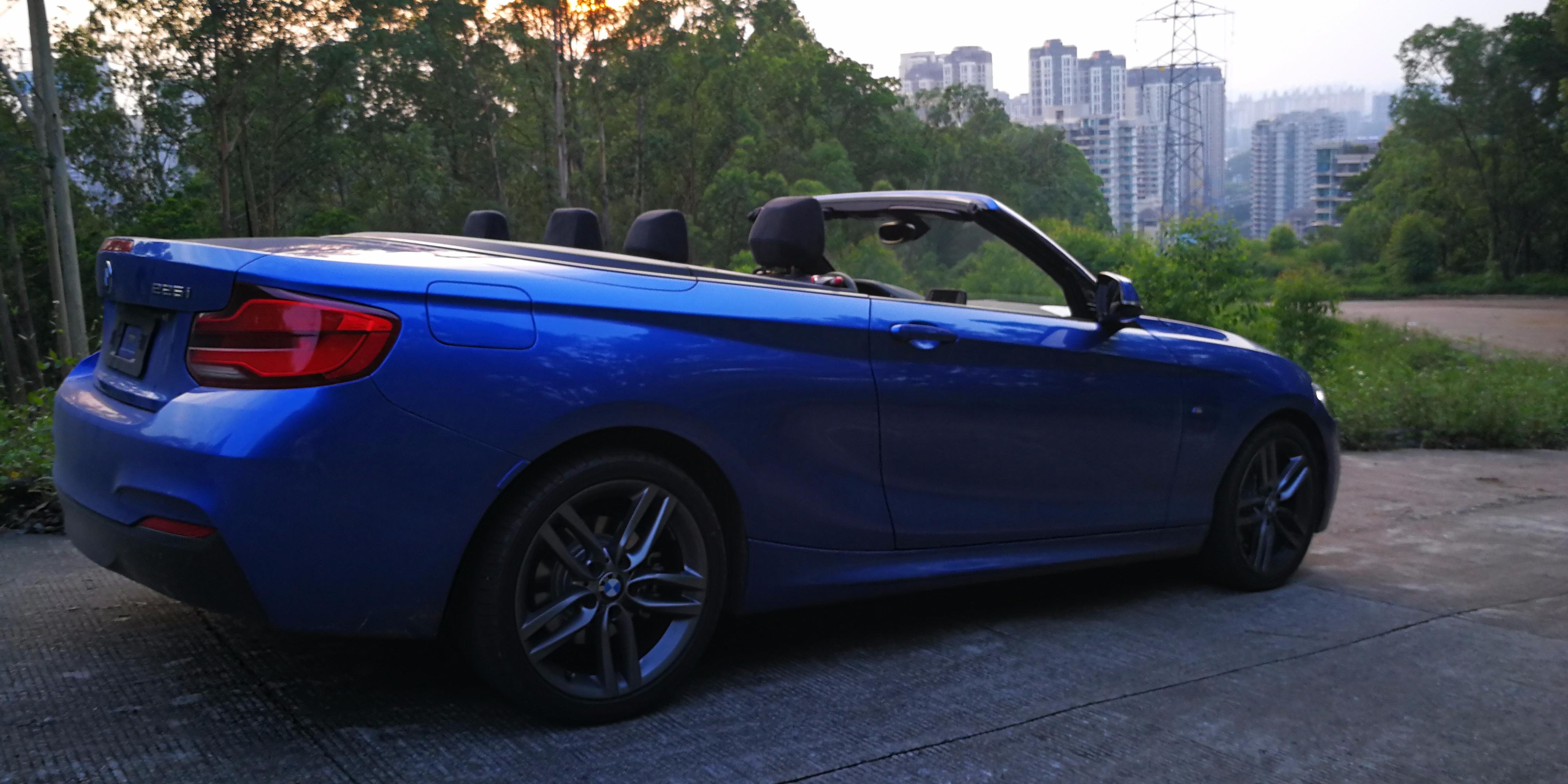 BMW 敞篷225i:让生活变得更美好!