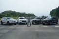 哪个高个子身形最矫健?四台SUV场地操控对比