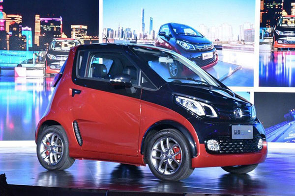 补贴后售6.39万 众泰E200 Pro车型上市
