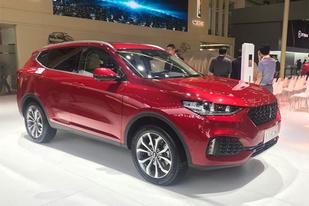 定位紧凑型SUV,WEY VV6将于8月底上市