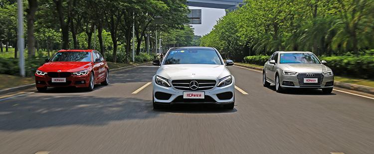 ABB中级车横评:加速、刹车、油耗、静音、养车费超详细对比