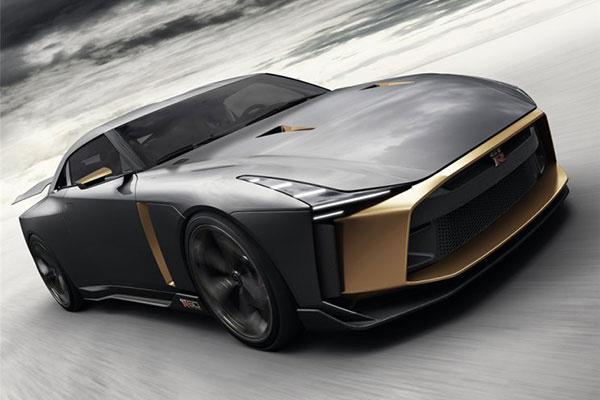 日产GT-R50概念车官图发布 未来元加身