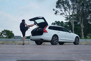 沃尔沃v90cc试驾视频:这车最强之处竟是音响!?